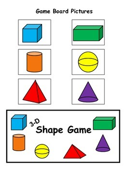 3-D Shape Game