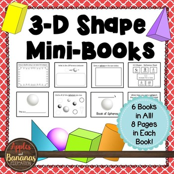 3-D Shape Mini-Books
