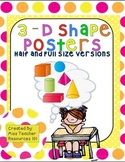 Shape Posters 3D (Polka Dot Theme)