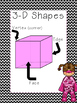 3-D Shape Posters with Super Heroes and 2-D Posters with S