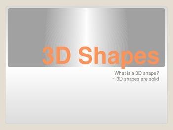 3-D Shape PowerPoint