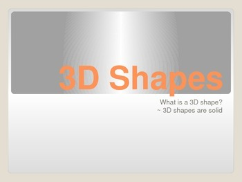 3-D Shape PowerPoint