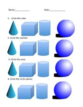 3-D Shape Quiz