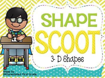 3-D Shape Scoot