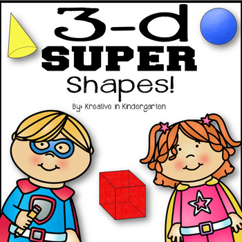 3-D Super Shapes