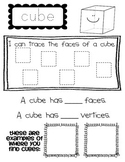 3-D Shape Student Worksheets