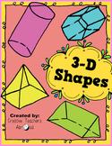 3-D Shapes Activity