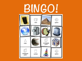 3-D Shapes BINGO Game with Lesson Plan (Integrate Math & L
