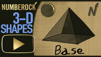 3D SHAPES Worksheets: with 3D Shapes Activities, Video, and 3D Shapes Game