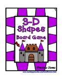 3-D Shapes - Board Game