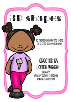 3-D Shapes (mini bundle)