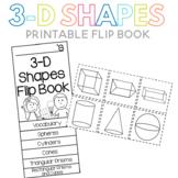 3-D Shapes Flip Book