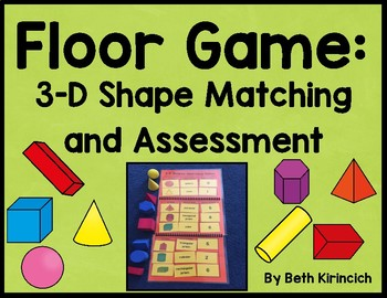 3-D Shapes Game and Assessment