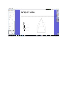 3D Shapes- Geometry- Flipchart