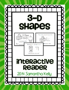 3-D Shapes Interactive Reader