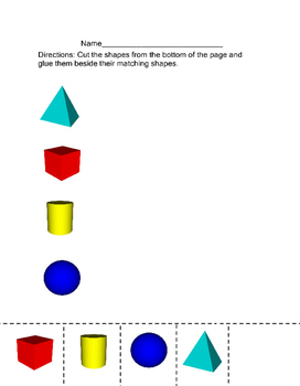 3 D Shapes Matching