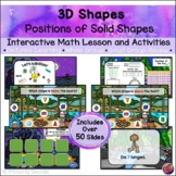 3-D Shapes: Positions of 3D Shapes*INTERACTIVE PowerPoint Math Lessons* DIGITAL*