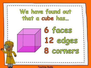 3-D Shapes (PowerPoint and worksheets)