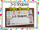 3-D Shapes Tab Book