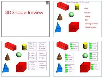3 D Shapes Unit