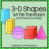 Shapes Write the Room (3-D)