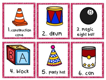 3-D Shapes Write the Room Sort
