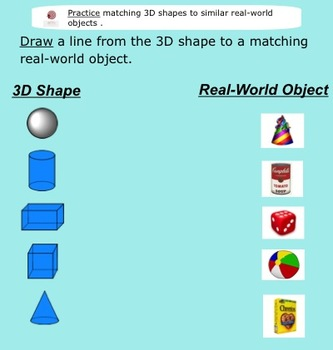 3-D Shapes in the Real-World