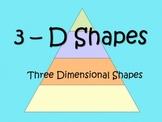 3-D Shapes ppt