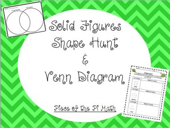 3-D Shapes/Solid Figures Activities!