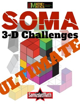 3-D Soma Puzzle Challenges: The Ultimate Edition @LOOK!!!!@