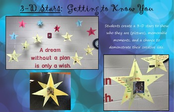 3-D Stars:  Getting to Know You