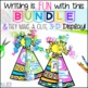 3-D Writing Activities BUNDLE - Writing Craftivities Throughout the Year