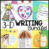 Writing Activities 3D Bundle | Writing Craftivities