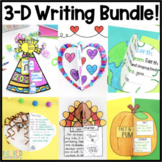Writing Activities 3D Bundle | Writing Craftivities