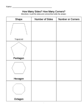 3-D and Polygon Shapes Unit!