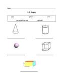3-D shape assessment