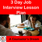 3 Day Job Interview Lesson Plan