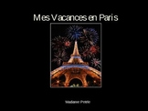 3 Days in Paris Project - PowerPoint