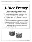 3 Dice Frenzy