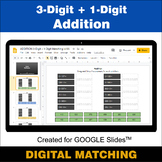 3-Digit + 1-Digit Addition - Google Slides - Distance Lear