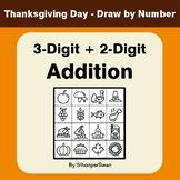 Thanksgiving Math: 3-Digit + 2-Digit Addition - Math & Art