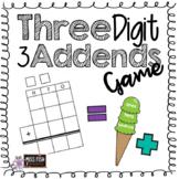 3 Digit 3 Addends Game