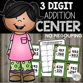 3 Digit Addition without Regrouping