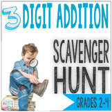 3 Digit Addition Game - Scavenger Hunt