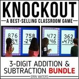 3-Digit Addition 3-Digit Subtraction Game   KNOCKOUT   Dis