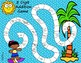 3 Digit Addition Board Game- Summer-Themed
