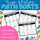 3-Digit Addition Center Task Cards : True False Sort It Math Activity