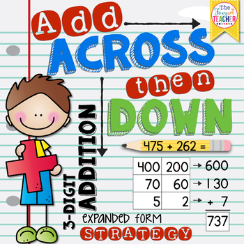 3-Digit Addition: Expanded Form Strategy