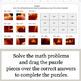3-Digit Addition - Google Slides - Halloween Puzzles