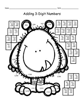 2 Digit Addition With Regrouping Winter Teaching Resources ...